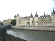 Conciergerie. Is a palace, situated in the northwestern part of the island of Cité in Paris. It belongs to the complex of buildings of the former royal royalty free stock image