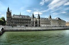 Conciergerie - Parijs Stock Afbeeldingen