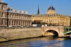 Conciergerie, Parijs, Frankrijk Stock Foto