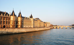 The Conciergerie in Paris Royalty Free Stock Photo