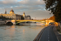 Conciergerie, Paris, France Stock Images