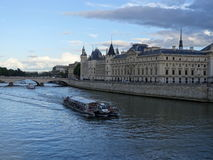 The conciergerie from the Pont Neuf bridge Stock Photography