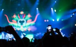 concierto Fotografía de archivo