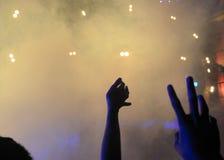 concierto Fotos de archivo libres de regalías