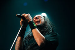 Concierto de Korn Foto de archivo