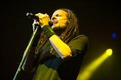 Concierto de Korn Fotografía de archivo