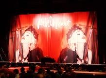 Concierto de Madonna Foto de archivo