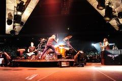 Concierto de Metallica Imagenes de archivo