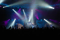 Concierto de rock Imagen de archivo
