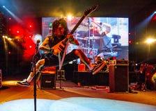 Concierto de rock Fotografía de archivo libre de regalías