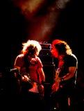 Concierto de rock Fotos de archivo libres de regalías