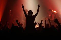 Concierto de rock Fotos de archivo
