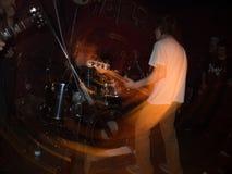 Concierto de rock subterráneo Fotografía de archivo