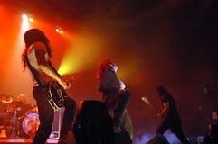 Concierto de rock vivo Fotografía de archivo libre de regalías