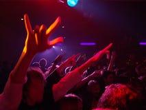 Concierto de rock vivo Imagen de archivo libre de regalías