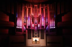 Concierto del órgano Imagenes de archivo