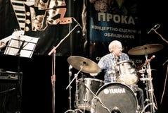 Concierto del jazz Imagenes de archivo