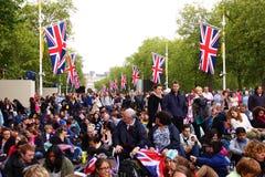 Concierto del jubileo 2012 de la reina Imágenes de archivo libres de regalías