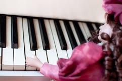 Concierto del piano Imagen de archivo libre de regalías