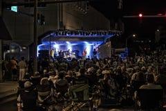 Concierto exterior de la música en la calle Imagenes de archivo