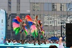 Concierto festivo en Kiev Fotos de archivo