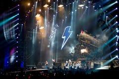 Concierto Montreal de AC/DC Imagen de archivo libre de regalías