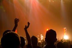 Concierto musical - cristiano - el aplaudir fotografía de archivo libre de regalías