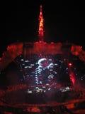 Concierto U2 Fotografía de archivo libre de regalías