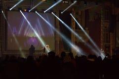 Concierto Varna de la Noche Vieja Foto de archivo libre de regalías