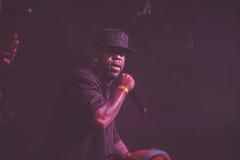 Concierto vivo de Outlawz en Moscú Rusia Fotografía de archivo libre de regalías