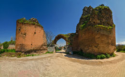 The concil gate in Nicaea Stock Photo