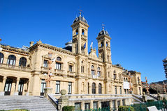 The concil of San Sebastian royalty free stock photo