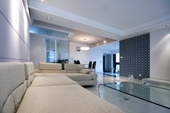 Concise and home decoration. Beijing, China, concise and modern home decoration Stock Photography