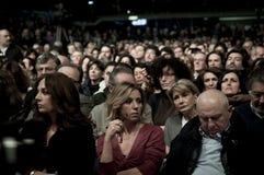 Concita de Gregorio Palasharp il 5 febbraio 2011 Fotografie Stock Libere da Diritti