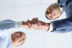 Concluding contract Royalty Free Stock Image