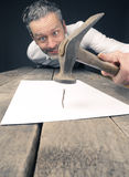 Concluding contract concept Royalty Free Stock Photography