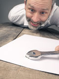 Concluding a contract Royalty Free Stock Photo