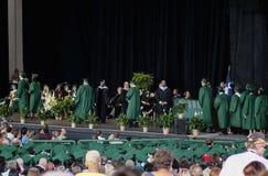 Conclusão do ensino secundário de 2012 molas, Houston Foto de Stock Royalty Free