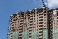 Conclusão do prédio alto de apartamentos novo foto de stock royalty free