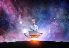 Conclusion de l'équilibre intérieur Photo libre de droits