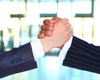 The conclusion of the transaction. Royalty Free Stock Photos