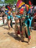 Conclusione azteca di ballo fotografia stock libera da diritti