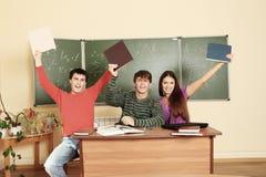 Conclusione dell'anno scolastico Immagini Stock