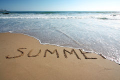 Conclusione di estate Immagine Stock Libera da Diritti