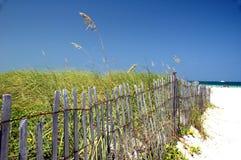 Conclusione di estate alla spiaggia Fotografia Stock