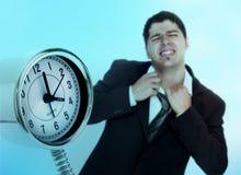 Conclusione di orario di lavoro Immagini Stock