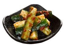 Concombre coréen banchan images libres de droits