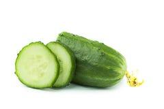 Concombre frais Image stock