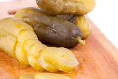 Concombre mariné Photos libres de droits