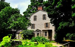 Concord, MA: The Olde Manse Stock Photo